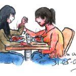 Saint Valentin avec Éliane