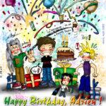 Happy Birthday, Adrien !
