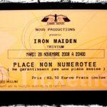 Iron Maiden + Trivium – Bercy