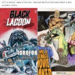 Don Glut kiffe Black Lagoon Fanzine #3