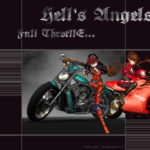 Wallpaper Ambreworld – Hell's Angels !