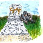 Natasha sur la Tombe de sa Fille