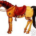 Cheval Mécanique – Essai cheval Steampunk