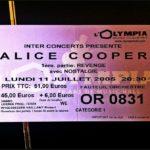 Alice Cooper – Dirty Diamonds Tour