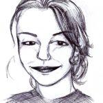 Portrait d'Eliane, par Renan