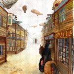 Illustration IV – Western City